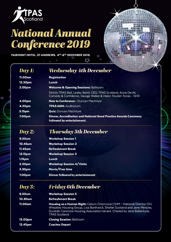 TPAS Programme 20.11.2019
